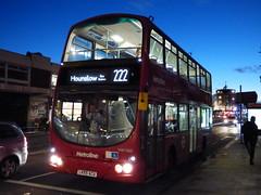Centrewest 222 (londonbusexplorer) Tags: metroline west volvo b7tl wrightbus gemini vw1560 vnw32658 lk55acu 222 uxbridge hounslow bus station tfl london buses