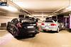 Honda CTR Fk8 vs ITR Dc5 (Mickael Roux [JapCars]) Tags: honda civic typer type r 2017 fk8 black turbo vtec brembo recaro integra ctr itr dc5 silver japon japan japanese car sportcar voiture auto hothatch canon mickael roux parking sous terrain