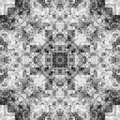 1381504911 (michaelpeditto) Tags: art symmetry carpet tile design geometry computer generated black white pattern