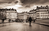 walking down the street.. (ckollias) Tags: blackwhite paris adult architecture blackandwhite buildingexterior builtstructure city cloudsky day fulllength men oneperson outdoors people realpeople sky traveldestinations