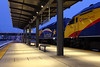 Northstar Holiday Train, Union Depot, St. Paul, Minn. (chief_huddleston) Tags: 502 505 mp36ph3c mpi motivepower commuter passenger train railroad twincities minnesota minneapolis stpaul
