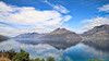 The landscapes of Queenstown, South Island, New Zealand (2) (geemuses) Tags: queenstown lakewakatipu canon 6dmkii newzealand southisland mountains lakes water freshwater scenery scenic alndscape landscapes colour color blue green cloud sky lake road walk