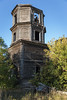 Abandoned Wooden Church. (Oleg.A) Tags: ruined autumn sunny penzaregion russia church nature outdoor rural materials villiage countryside abandoned building ancient colorful orthodox sunset architecture evening wood yellow destroyed old outdoors penzenskayaoblast ru