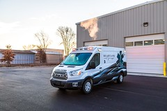 Georgia ambulance (CasketCoach) Tags: ambulance ambulancia ambulanz ambulans rettungswagen krankenwagen paramedic ems emt emergencymedicalservice firefighter fordtransit