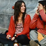 25 April 2009 (celebrating the Carnation Revolution) - Two Demonstrators relaxing thumbnail