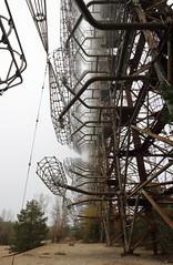Duga (scrappy nw) Tags: abandoned scrappynw scrappy derelict decay duga2 duga3 duga radar canon canon750d chernobyl chernobyldisaster urbex ue urbanexploration urbanexploring ukraine highup tower fog pripyat steel