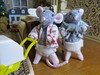 4. Rosie and Basil (Foxy Belle) Tags: doll make 112 scale dollhouse mouse how wire pipestem cleaner chenile stems poseable baby toddler tutorial