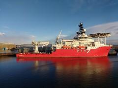 Seven Kestrel (das boot 160) Tags: sevenkestrel supply offshore offshorevessel ships sea ship river aberdeen maritime boats boat oil gas