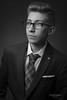Saúl (Troylo@stur) Tags: estudio modelo model traje corbata gafas tupe strobist flash blancoynegro byn blackwhite bw removedfromstrobistpool nostrobistinfo seerule2