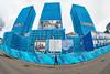 Living vertical (Guy Goetzinger) Tags: architektur baustelle hochhäuser offices zürich schweiz ch goetzinger nikon d800 fisheye nikkor architecture building altstetten vulcano blue steiner creditsuisse construction vulcanozürichch