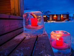 PC301036 (Rebecca_Wilton) Tags: finnmark norway no olympus europe 2017 winter snow lapland omdem1 omd em1 mzuikodigital12100mm candles