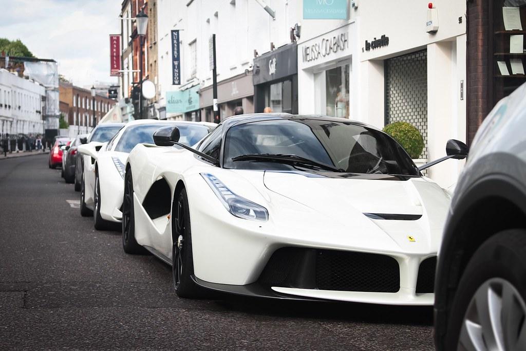 laferrari gold. laferrari (sirmatvey) tags: carspotting canon england uk london hypercar supercar car luxury gold laferrari
