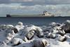 manit121917arrlgt_rb (rburdick27) Tags: manitowoc lakeshore ice snow marquette lakesuperior lighthouse