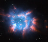 "Hubble's Holiday Nebula ""Ornament"" (NASA's Marshall Space Flight Center) Tags: nasa marshall space flight center msfc hubble telescope solar system beyond esa european agency planetary nebula nebulae ngc6326"