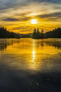 Frozen tranquillity