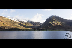 Fleetwith Pike & Gatesgarthdale (JoshJackson84) Tags: canon60d sigma18250mm europe uk england cumbria lakes lakedistrict buttermere gatesgarth fells hills snow white sun clear fleetwith