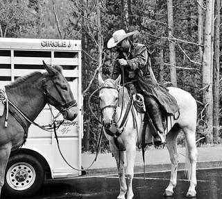 Ranger Prepares to Rescue a Hiker, Rocky Mountain National Park, Estes Park, Colorado