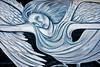 Mississippi, Ocean Springs (CarmenSisson) Tags: oceansprings mississippi south painting gulfcoast angel mural wall brick cinderblock streetart guardianangel campvictor katrina protector protection hurricanekatrina usa