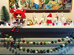 Christmas Mantle 2017 (blythecatalyst) Tags: christmas mantle