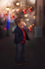 Mezmerized by the Storefront Window (lindseym35) Tags: christmas magical dapper handsome colorado estespark city bokeh lights storefront