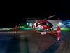 Christoph Regensburg wird in der Nacht zu einem Einsatz alarmiert (Foto Christoph von Haussen) (DRF Luftrettung) Tags: stationregensburg luftrettung drfluftrettung christoph regensburg hubschrauber h145