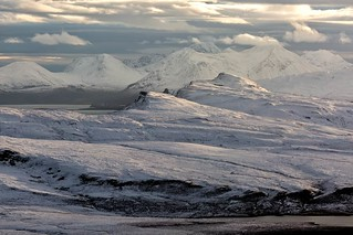 Trotternish Peninsula and Cuillin Mountains Isle of Skye