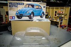 Tamiya Bug Unboxing (Strangely Different) Tags: tamiya rccar hobby scalerc volkswagen beetle bug vw m06 mini kit scaler scalemodel