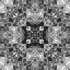 1968142926 (michaelpeditto) Tags: art symmetry carpet tile design geometry computer generated black white pattern