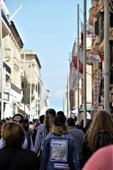 C'est la vie (fotoservice18) Tags: cest la vie urban people malta street streetphoto true direction photo from world mondo strada walking camminare insieme tourist turismo thoghether cittadini citizens wall così è vita