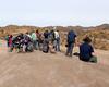 029 Waiting For Help (saschmitz_earthlink_net) Tags: 2018 california orienteering vasquezrocks aguadulce losangelescounty laoc losangelesorienteeringclub