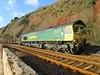 Teignmouth Freightliner into Parsons Tunnel South Devon (Bridgemarker Tim) Tags: devon dartmoortorquay teignmouth badgersholt