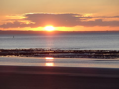 sunrise on wedding day (rabinal) Tags: swansea abertawe wales sunrise