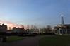 Trinity Square Gardens (Dun.can) Tags: london sunrise dawn december winter theshard trinitysquaregardens trinitysquare park skyline londonskyline sky pink