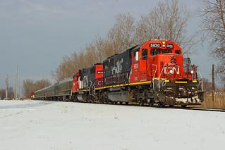 GTW/CN Santa Train - Wyandotte, Michigan