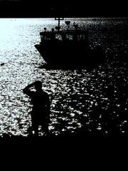 0008895 (Shakies Buddy) Tags: ship fishing boat water bay night goodnight shadows nbphoto nb canada ©allrightsreserved