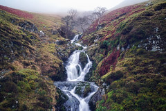 Dalveen Pass (Caledonia84) Tags: dumfries galloway scotland fog mist winter sonya6000 dalveen pass waterfall