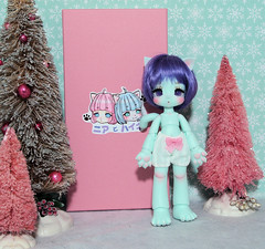 Kinoko Juice Nia (Cattwo's Catsy & Friends) Tags: cat doll bjd mintresin kinokojuice nia mushroomfairy kinokojuicenia anthro