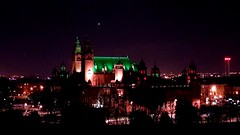 Glasgow Art Galleries (moi_images) Tags: glasgow art galleries night colour color lights city green building