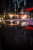 Mirror|rorriM 🚕💨🔃 (Sonika Arora 604) Tags: newyork nyc manhattan usa rain reflection water puddles cab yellowcab black highlights shadows cabs taxi nikon nikond800 nikonphotography nikonphotographer night nightphotography