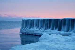 Ice Age East Hamilton Beach Canada