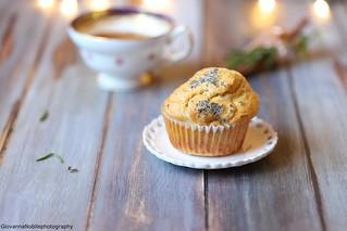 Muffin di farro con pecorino al pepe e nocciole 3