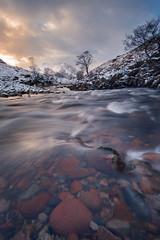 River Etive (Derek Robison) Tags: scotland landscape winter uk glencoe river snow etive