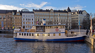 The commuter boat Gurli in Stockholm