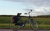 bike (Jos Mecklenfeld) Tags: minoltax700 minolta x700 minoltamd50mm md minoltamd agfavista200 agfavista agfavistaplus agfa epsonv500 ishootfilm film analog analogue clouds wolken landscape landschaft landschap bike fahrrad fiets terhaar terapel westerwolde groningen netherlands niederlande nederland gazelle minoltamd50mmf20