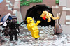 Alien Story (Kloou.) Tags: lego alien kloou ripley xenomorph space legospace aliens xenomorphs power loader facehugger