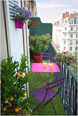 Colorful Balcony Design Ideas (kreatecube) Tags: kreatecube interiordesign interiordesigns tinybalcony balcony balconydecor topinteriordesignersdelhi topinteriordesignersindia