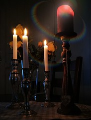 The table is set, put the morning coffee on the table and a new day can begin 😄 (evakongshavn) Tags: smileonsaturday shinymetals goodmorning goodmorningworld breakfast table candles candlelight light yellowlight yellowflower roses rose sos hsos happysmileonsaturday