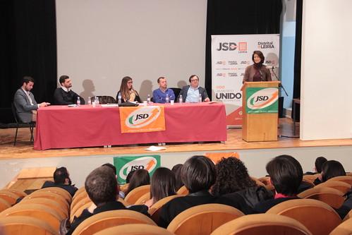 Teresa Morais no Encerramento do IV Congresso Distrital de Leiria