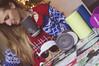 350/365 (Ell@neese) Tags: cute ugly sweater christmas holiday lights cup mug tea davidstea happy smile girl woman home 365 pentax kr