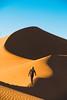 Hugo alone (Leo Hidalgo (@yompyz)) Tags: sony a6300 18105mm g marruecos morocco almaġrib merzouga desert dune dunas arena sand